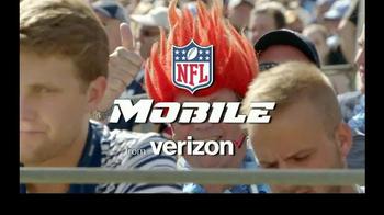 Verizon NFL Mobile TV Spot, 'Thursday Night Football & NFL Network' - Thumbnail 4