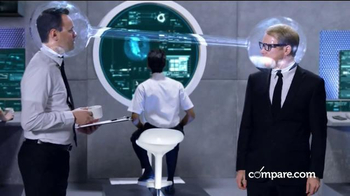 Compare.com TV Spot, 'Agent Compare: Insurance Check-Up' - 422 commercial airings