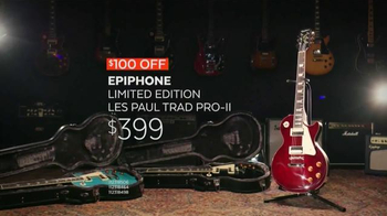 Guitar Center Guitar-A-Thon TV Spot, 'Epiphone Limited Edition'