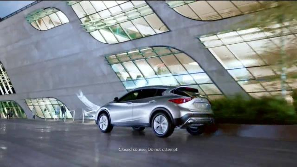 Subaru Forester Commercial Song >> 2017 Infiniti QX30 TV Commercial, 'Bold Drive' - iSpot.tv