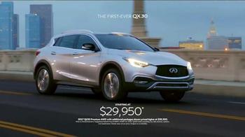 2017 Infiniti QX30 TV Spot, 'Bold Drive' - Thumbnail 10