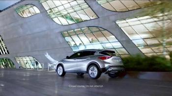 2017 Infiniti QX30 TV Spot, 'Bold Drive' - Thumbnail 7