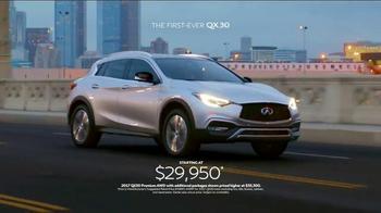 2017 Infiniti QX30 TV Spot, 'Bold Drive' - Thumbnail 9