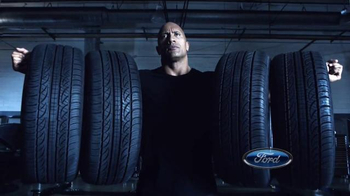Ford Big Tire Event TV Spot, 'Show Off' Featuring Dwayne Johnson - 1927 commercial airings