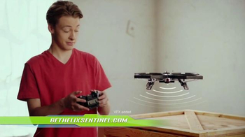 Air Hogs Helix Sentinel Drone TV Spot, 'Live Streaming' - Thumbnail 7