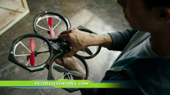 Air Hogs Helix Sentinel Drone TV Spot, 'Live Streaming' - Thumbnail 8