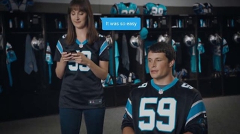 NFL Shop TV Spot, 'The Easy Route' Featuring Luke Kuechly - 209 commercial airings