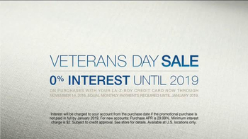 La-Z-Boy Veterans Day Sale TV Spot, 'Change of Plans' Feat. Brooke Shields - Thumbnail 9