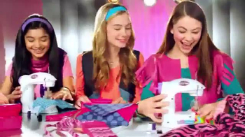 Cra-Z-Art Shimmer 'n Sparkle Sew Crazy Sewing Machine TV Spot, 'So Fun' - Thumbnail 2