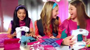 Cra-Z-Art Shimmer 'n Sparkle Sew Crazy Sewing Machine TV Spot, 'So Fun' - Thumbnail 3