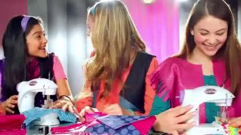 Cra-Z-Art Shimmer 'n Sparkle Sew Crazy Sewing Machine TV Spot, 'So Fun'