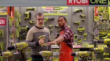 The Home Depot TV Spot, 'Gift Idea: Ryobi Power Tools'