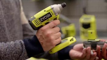 The Home Depot TV Spot, 'Gift Idea: Ryobi Power Tools' - Thumbnail 3