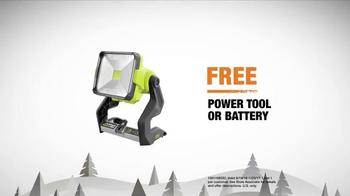 The Home Depot TV Spot, 'Gift Idea: Ryobi Power Tools' - Thumbnail 6