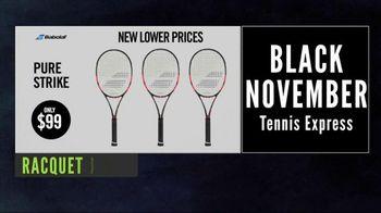 Tennis Express Black November Sale TV Spot, 'Black Friday is Back'