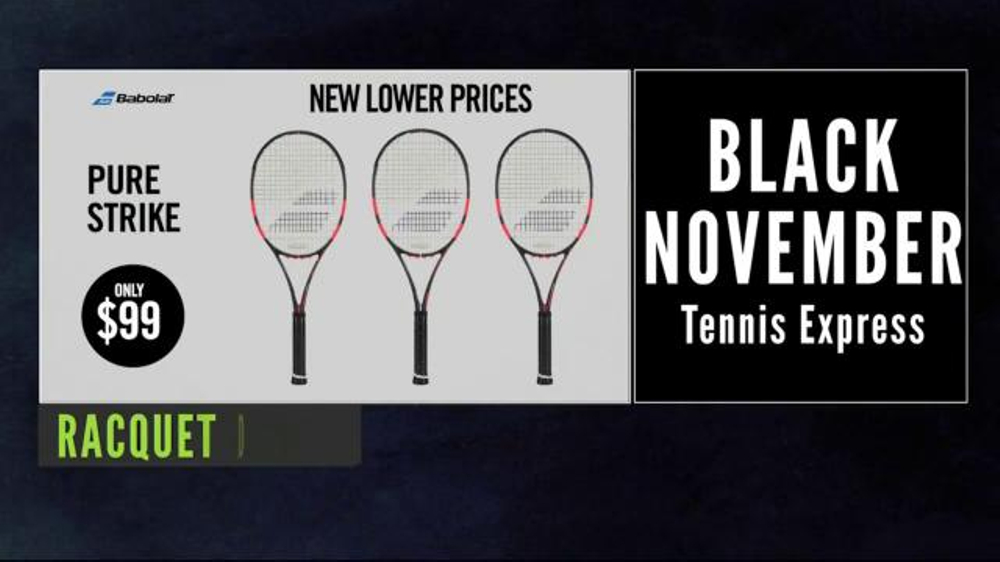4e30fbdfc452 Tennis Express Black November Sale TV Commercial