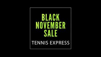 Tennis Express Black November Sale TV Spot, 'Black Friday is Back' - Thumbnail 1