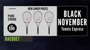 Tennis Express Black November Sale TV Spot, 'Black Friday is Back'