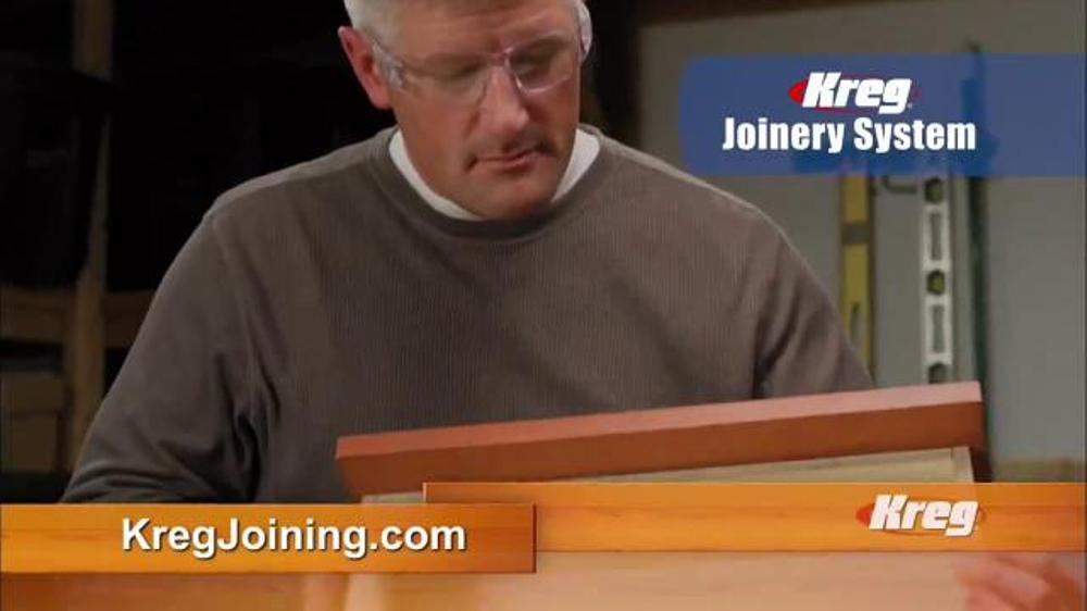 Kreg Joinery System TV Commercial, 'Build Like the Pros'