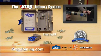 Kreg Joinery System TV Spot, 'Build Like the Pros' - Thumbnail 10