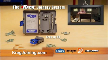 Kreg Joinery System TV Spot, 'Build Like the Pros' - Thumbnail 9