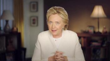 Hillary for America TV Spot, 'Tomorrow' - Thumbnail 1