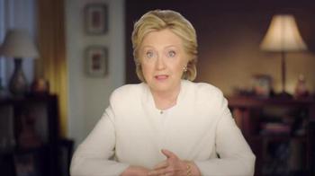 Hillary for America TV Spot, 'Tomorrow' - Thumbnail 2