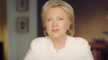 Hillary for America TV Spot, 'Tomorrow' - 2 commercial airings