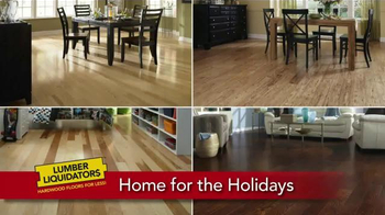 Lumber Liquidators Home for the Holidays TV Spot, 'Beautiful Flooring' - Thumbnail 10