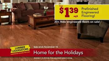 Lumber Liquidators Home for the Holidays TV Spot, 'Beautiful Flooring' - Thumbnail 4