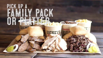 Dickey's BBQ Family Pack or Platter TV Spot, 'Your Next Gathering'