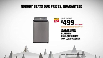 The Home Depot Black Friday Savings TV Spot, 'New Spin on the Holidays' - Thumbnail 6