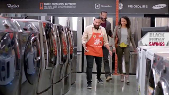 The Home Depot Black Friday Savings TV Spot, 'New Spin on the Holidays' - Thumbnail 2