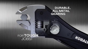 Kobalt Rapid Adjust Wrench TV Spot, 'Innovation' - Thumbnail 6