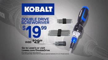 Kobalt Double Drive TV Spot, 'Engineered to Last' - Thumbnail 10