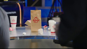 Arby's TV Spot, 'ESPN: Basketball With Garbage' Featuring Scott Van Pelt - Thumbnail 5