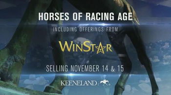 Keeneland November Breeding Stock Sale TV Spot, 'Horses of Racing Age' - 2 commercial airings
