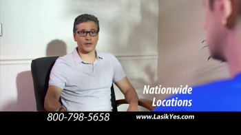 The LASIK Vision Institute TV Spot, 'Safe and Easy' - Thumbnail 6