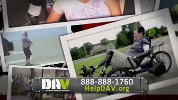 Disabled American Veterans TV Spot, \'A Lifetime of Support: Dave Riley\'