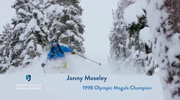 Squaw Valley Alpine Meadows TV Spot, 'Sunshine' Featuring Jonny Moseley - 1 commercial airings