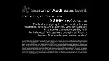 Season of Audi Sales Event TV Spot, 'Force of Nature' - Thumbnail 5