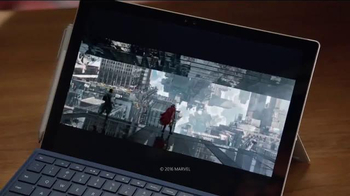 Microsoft Surface Pro 4 TV Spot, 'Marvel Studios Executive Producer' - Thumbnail 2