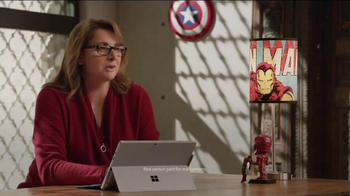 Microsoft Surface Pro 4 TV Spot, 'Marvel Studios Executive Producer' - Thumbnail 3