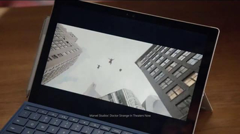 Microsoft Surface Pro 4 TV Spot, 'Marvel Studios Executive Producer' - Thumbnail 5
