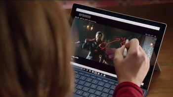 Microsoft Surface Pro 4 TV Spot, 'Marvel Studios Executive Producer' - Thumbnail 8