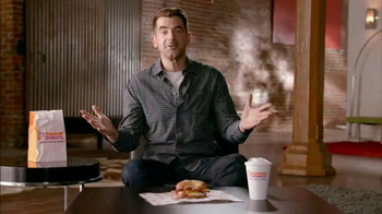 Dunkin' Donuts Sweet Black Pepper Bacon Sandwich TV Spot, 'FX: Big News' - 10 commercial airings
