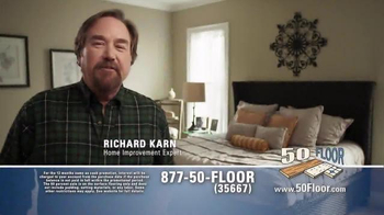 50 Floor TV Spot, 'Simple and Easy' Featuring Richard Karn - Thumbnail 1