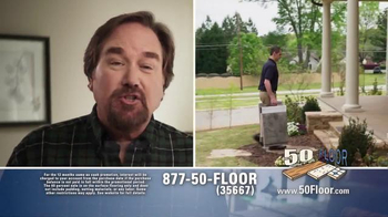 50 Floor TV Spot, 'Simple and Easy' Featuring Richard Karn - Thumbnail 2