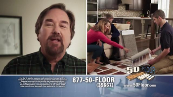 50 Floor TV Spot, 'Simple and Easy' Featuring Richard Karn - Thumbnail 3