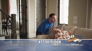 50 Floor TV Spot, 'Simple and Easy' Featuring Richard Karn - Thumbnail 4
